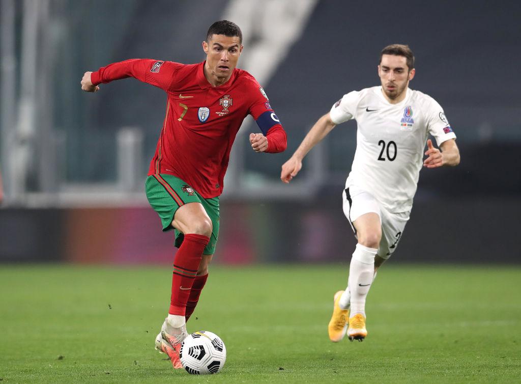 ไฮไลท์ฟุตบอลโลกรอบ คัดเลือก โปรตุเกส - อาเซอร์ไบจาน