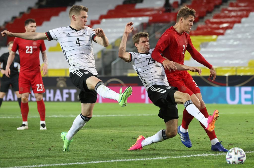 ไฮไลท์ฟุตบอล กระชับมิตร เยอรมนี - เดนมาร์ก