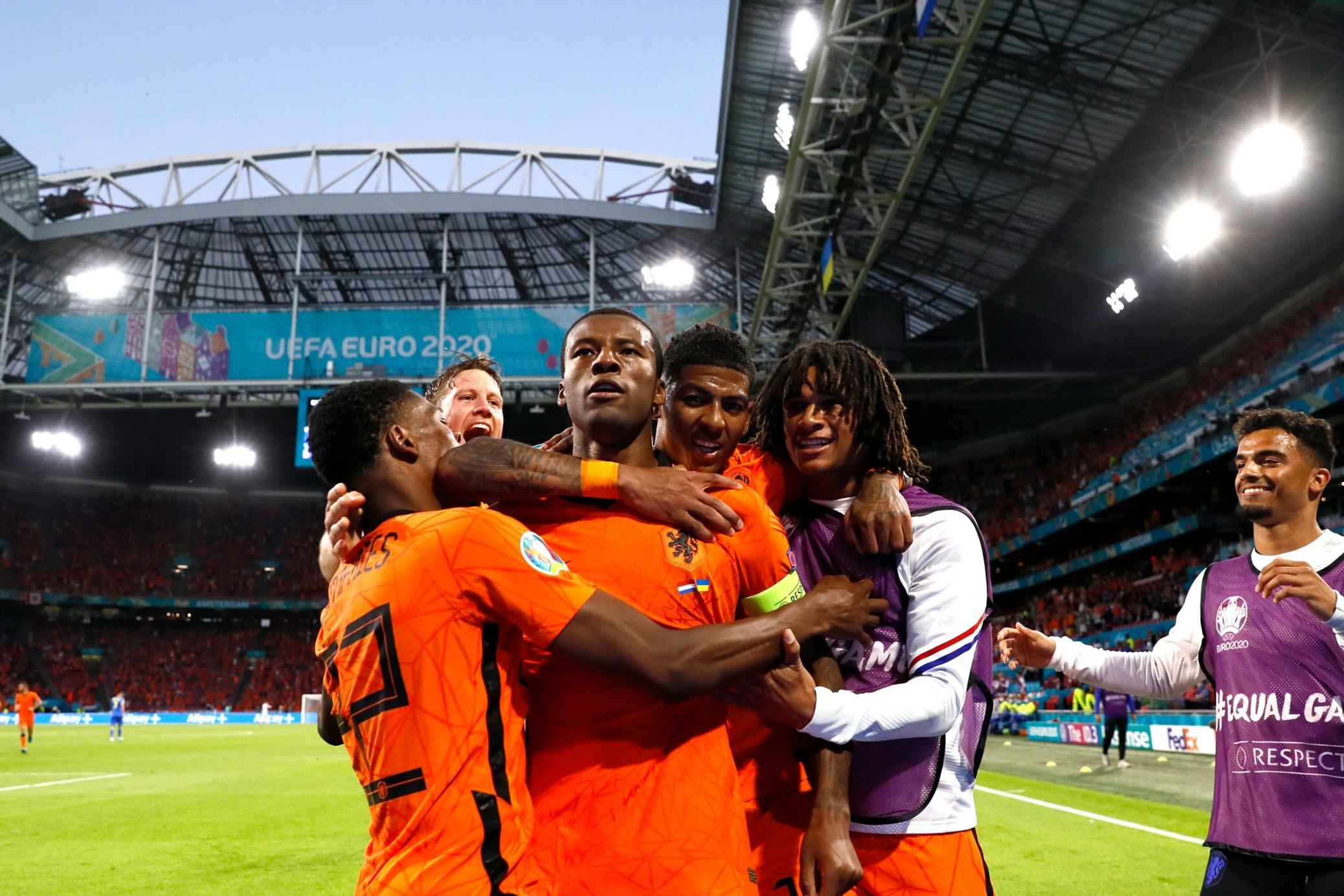 ไฮไลท์ฟุตบอล ยูโร 2021 เนเธอร์แลนด์ - ยูเครน